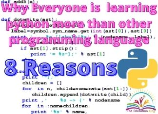Why everyone is learning python Programming