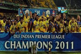 IPL 2011 Season 4 Winner Team Chennai Super Kings with Complete Match  Information | Winners List