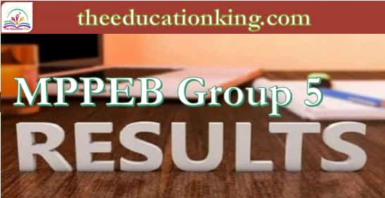 MPPEB Group 5 Result 2021