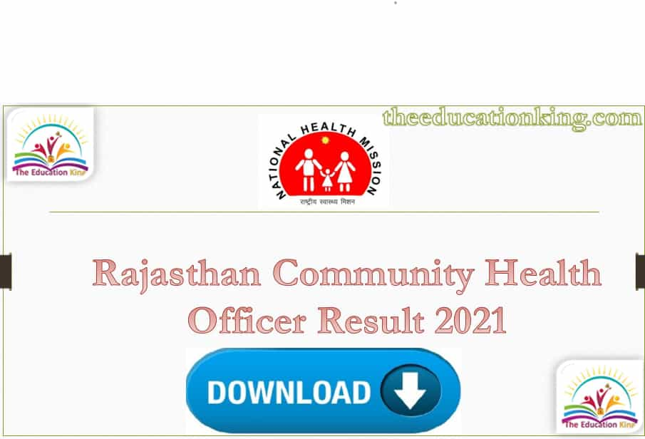 Rajasthan CHO