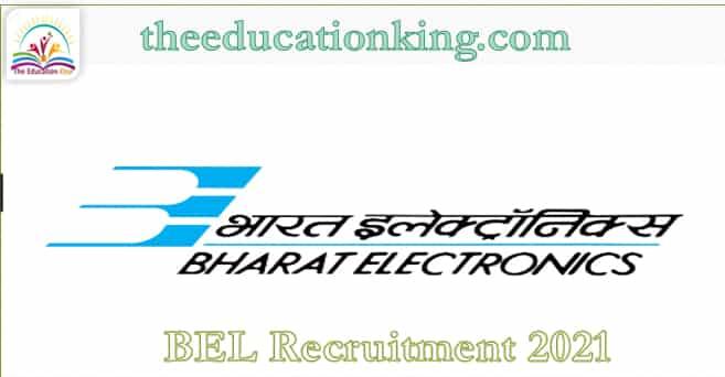 BEL Recruitment 2021