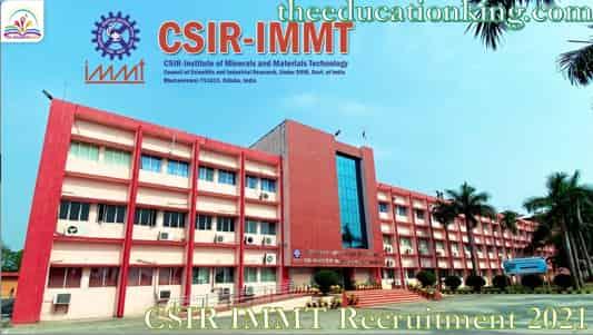 CSIR IMMT