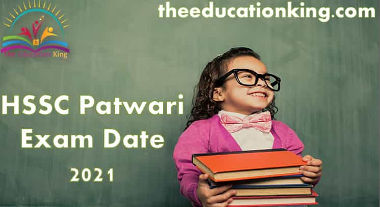 HSSC Patwari Exam Date