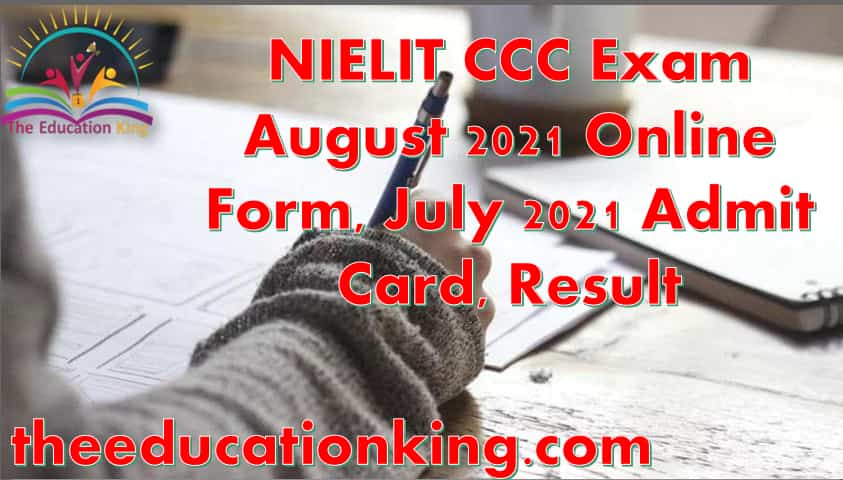 NIELIT CCC Exam
