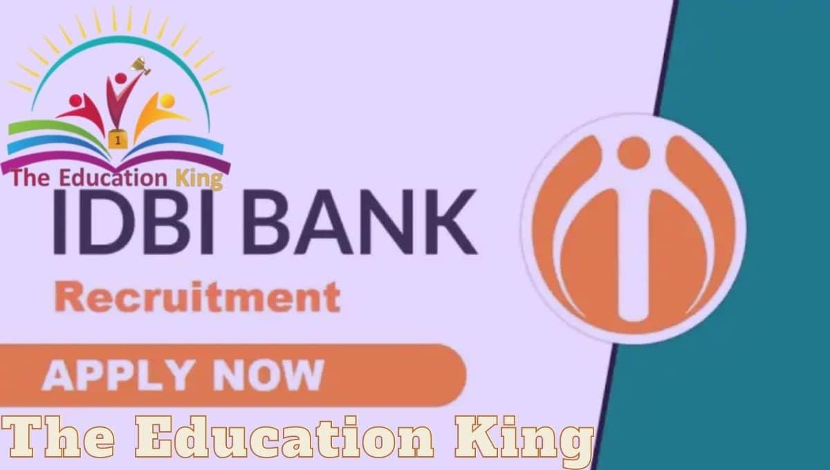 IDBI Bank executive recruitment 2021